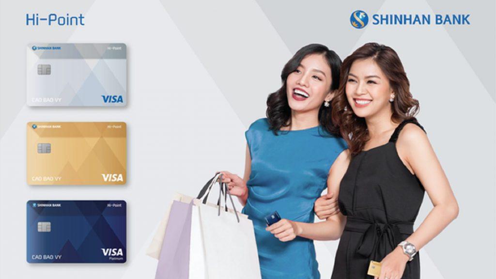 Cách làm thẻ tín dụng Shinhan Bank