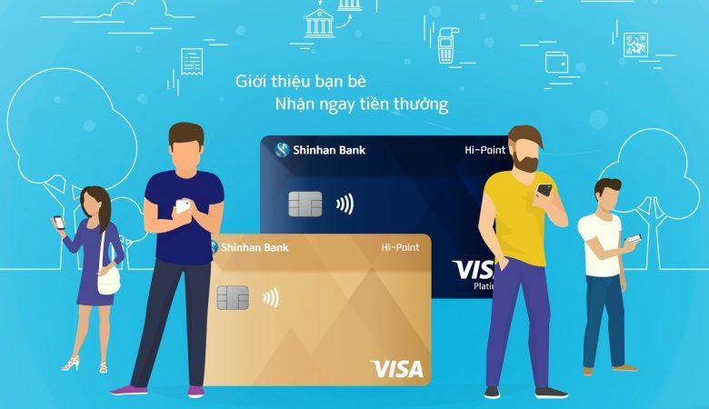 Thẻ tín dụng Shinhan Bank Hi-Point
