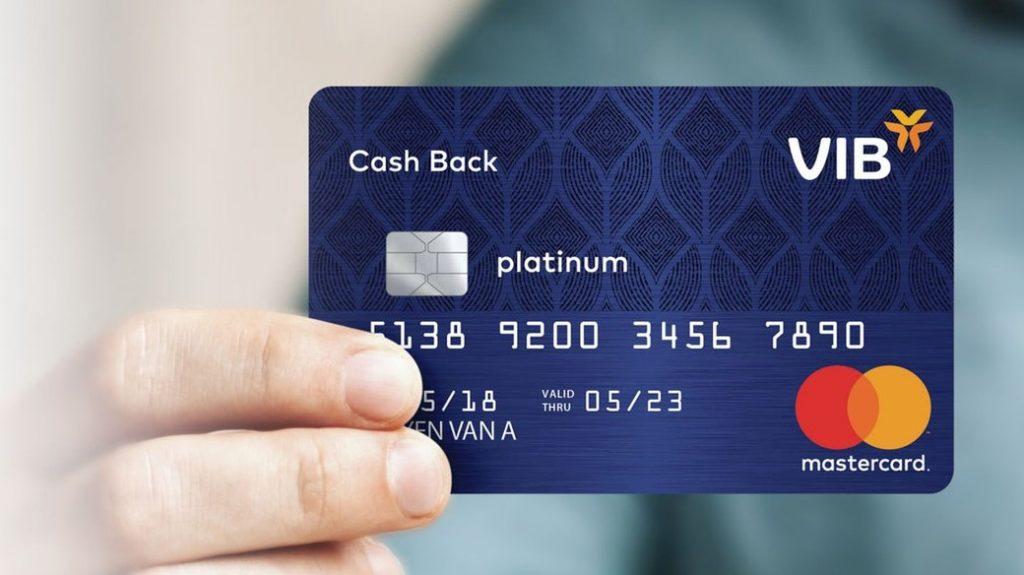 Thẻ tín dụng VIB Cashback