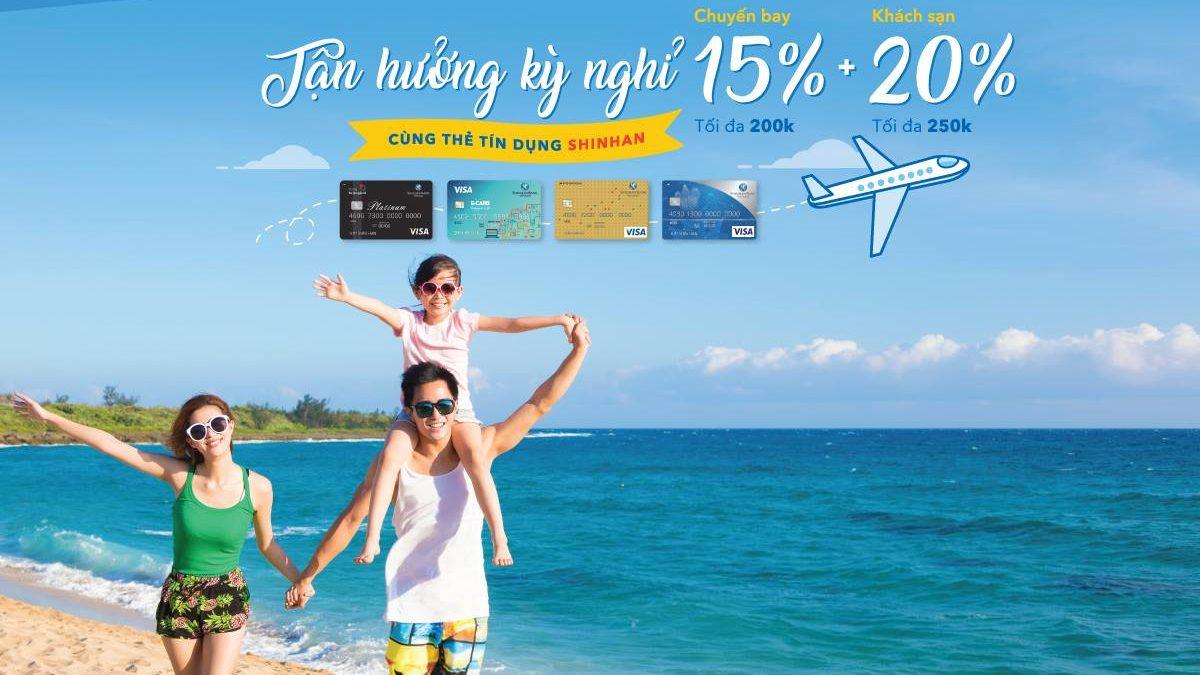 Thẻ tín dụng Shinhan Bank Visa Travel