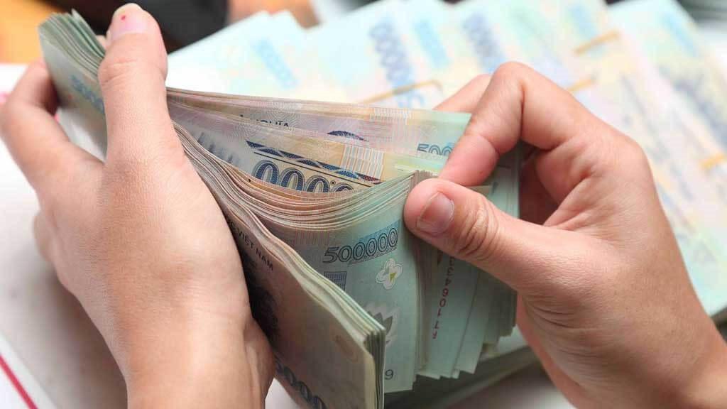 Bước 10: Nhận tiền giải ngân từ ATM Online