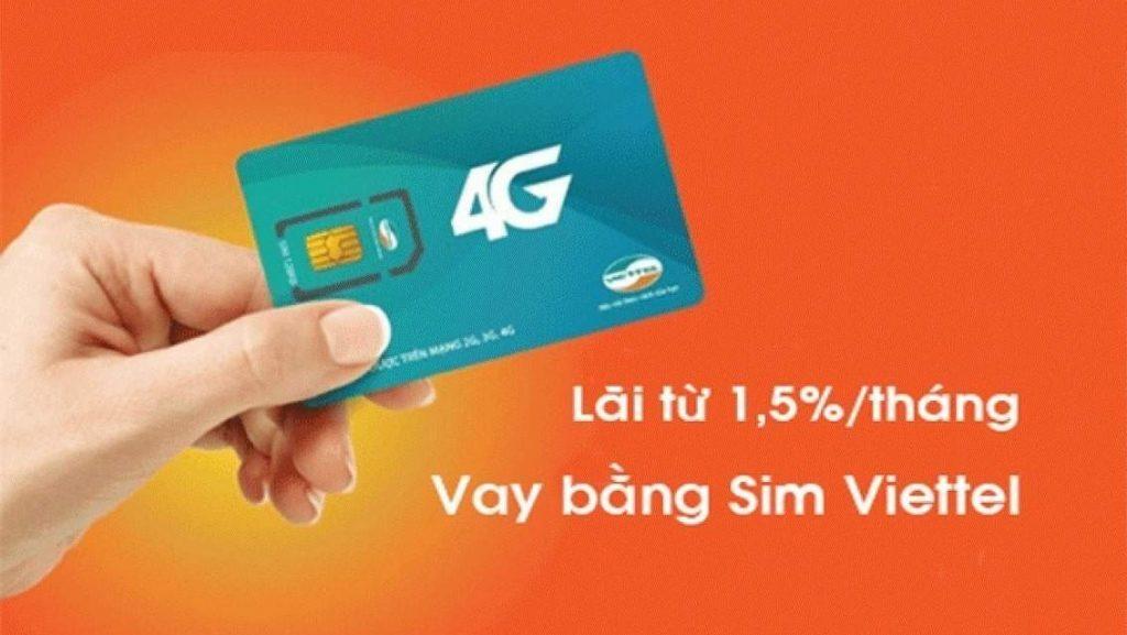 Vay tiền theo SIM điện thoại