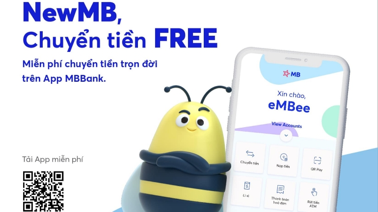 MB Bank chuyển tiền miễn phí