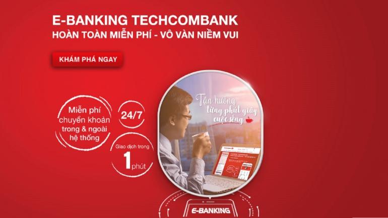 Techcombank chuyển tiền liên ngân hàng miễn phí