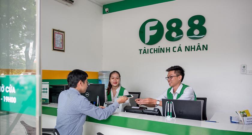 F88 chấp nhận các dòng xe tầm trung tới cao cấp, định giá tài sản cao