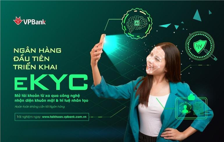 VPBank triển khai eKYC