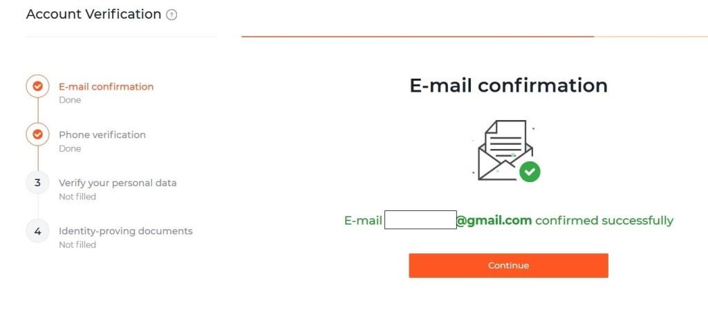 Xác minh địa chỉ email