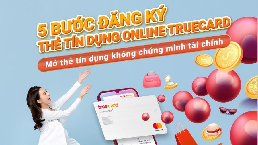 Mở thẻ tín dụng online VIB TrueCard