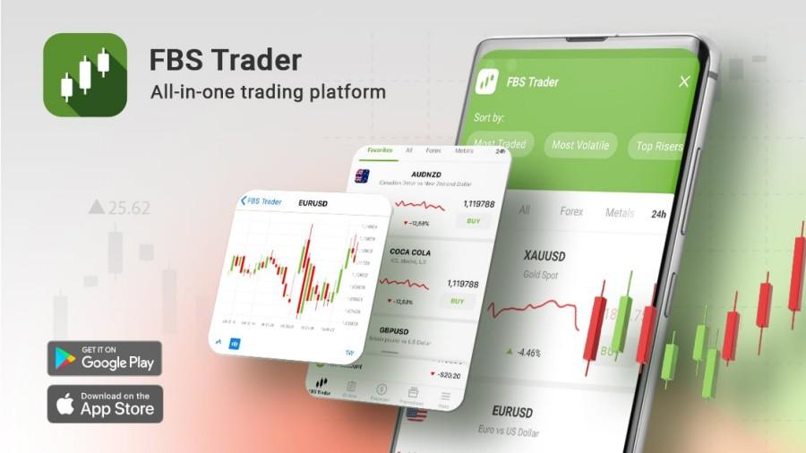 Ứng dụng FBS Trader