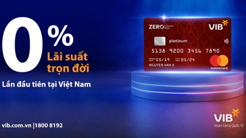 Thẻ tín dụng 0% lãi suất