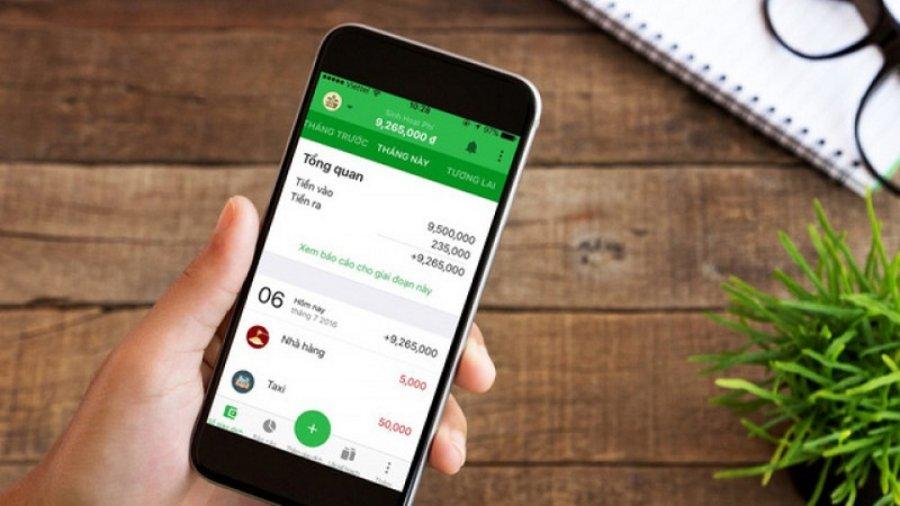 App quản lý chi tiêu