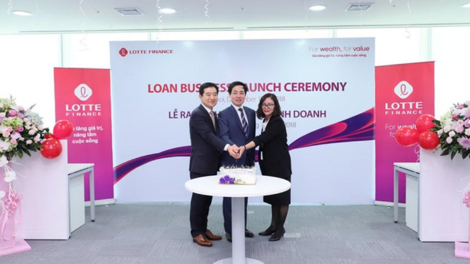 Lễ ra mắt Phòng kinh doanh Lotte Finance