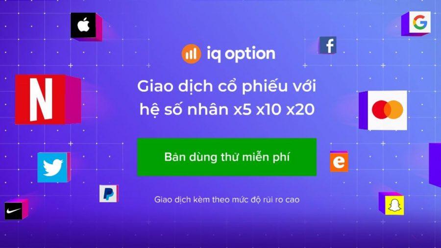 Giao dịch IQ Option với tài khoản Demo