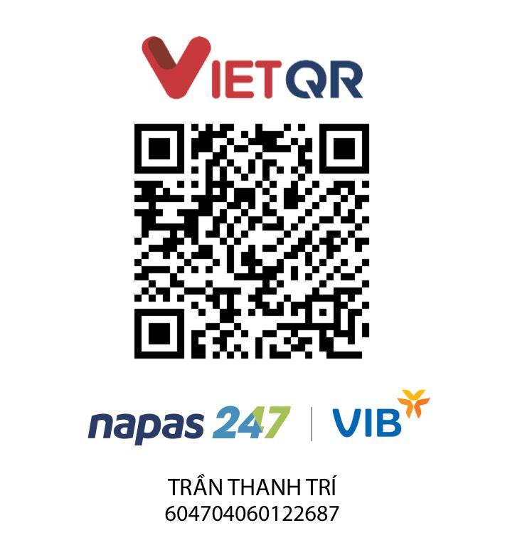 Mã VietQR mẫu của Ngân hàng VIB