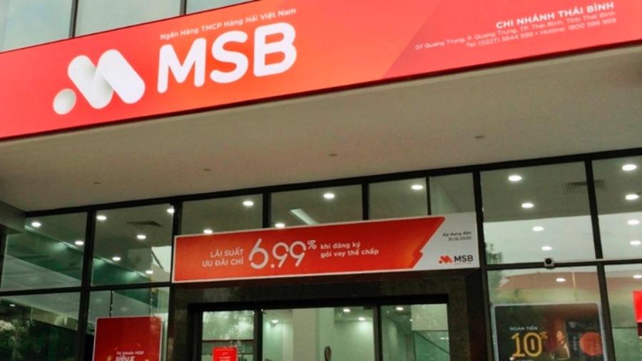 Chi nhánh Ngân hàng MSB Thái Bình