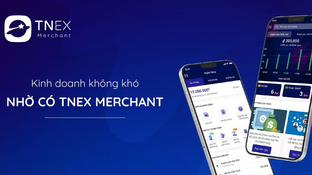 TNEX Merchant - Tăng trưởng doanh thu cho nhà bán hàng